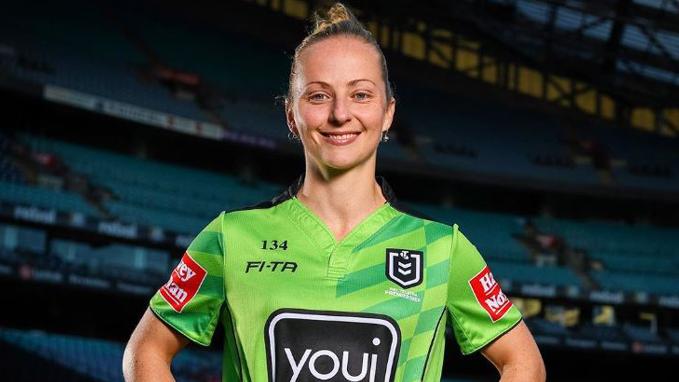 NRL appoints Belinda Sharpe as first female referee in 111-year top flight history