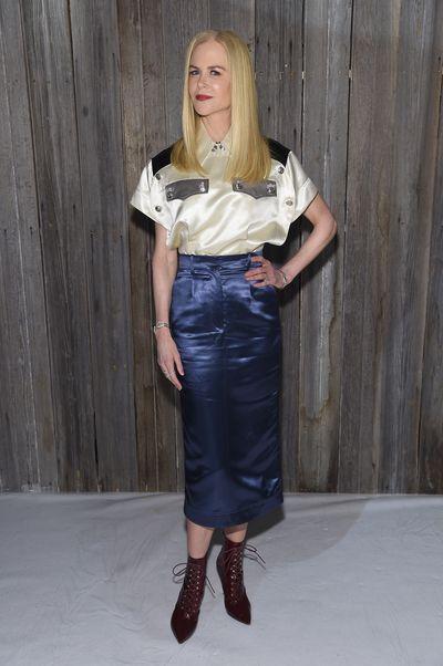 Actress Nicole Kidman at Calvin Klein A/W '18 in New York City