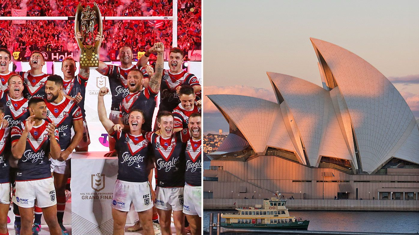 The sports world has come head-to-head with the Sydney Opera House Trust
