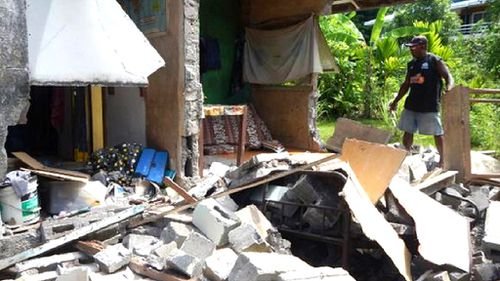Solomon Islands earthquake: Hospital and hundreds of homes damaged amid aftershocks