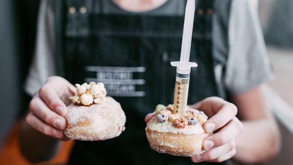 Morgan Hipworth's donuts