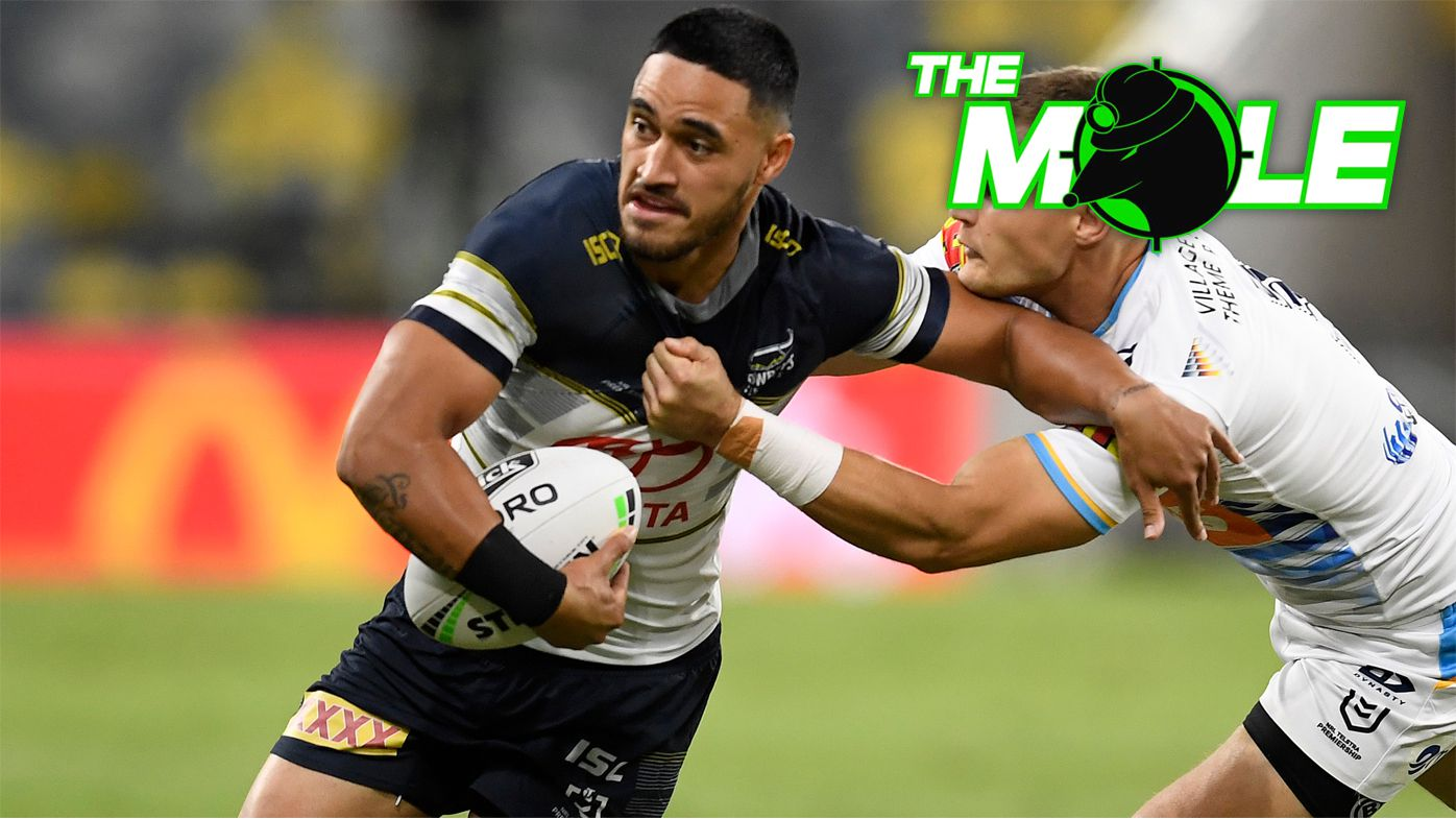 The Mole: Valentine Holmes to miss Roosters clash after training injury