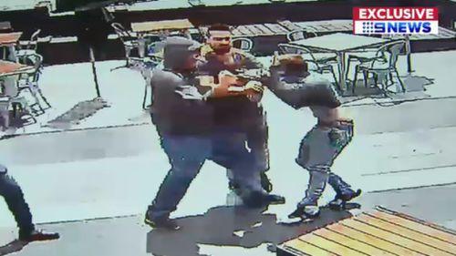 Shocked witnesses attempted to intervene. (9NEWS)
