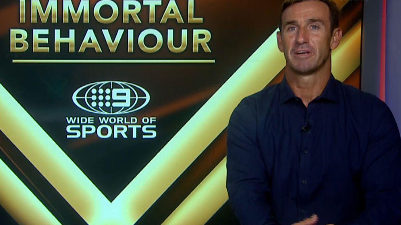 Andrew Johns makes two early picks for Dally M honours