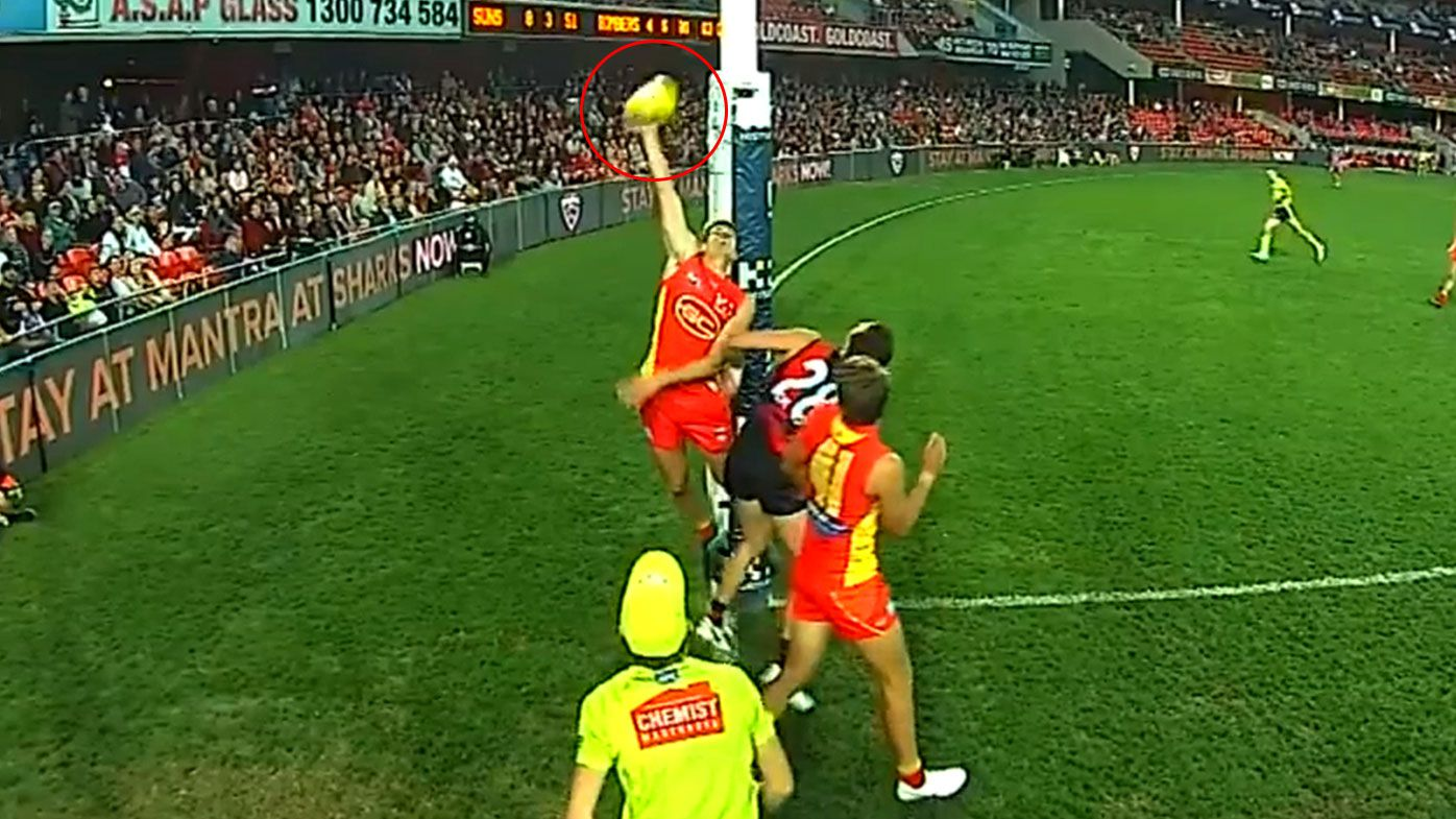 Essendon Bombers star expecting AFL apology after umpiring gaffe denies crucial goal