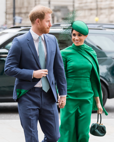 Harry and Meghan apology
