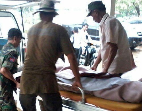 Australian dead, 1 hurt in Cambodia blast
