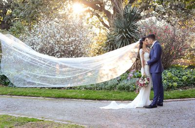 Emily Simms and Pierre Ghougassian's Melbourne wedding