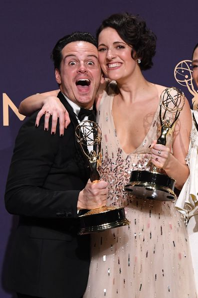 Andrew Scott, Phoebe Waller-Bridge, Emmy Awards, September 2019