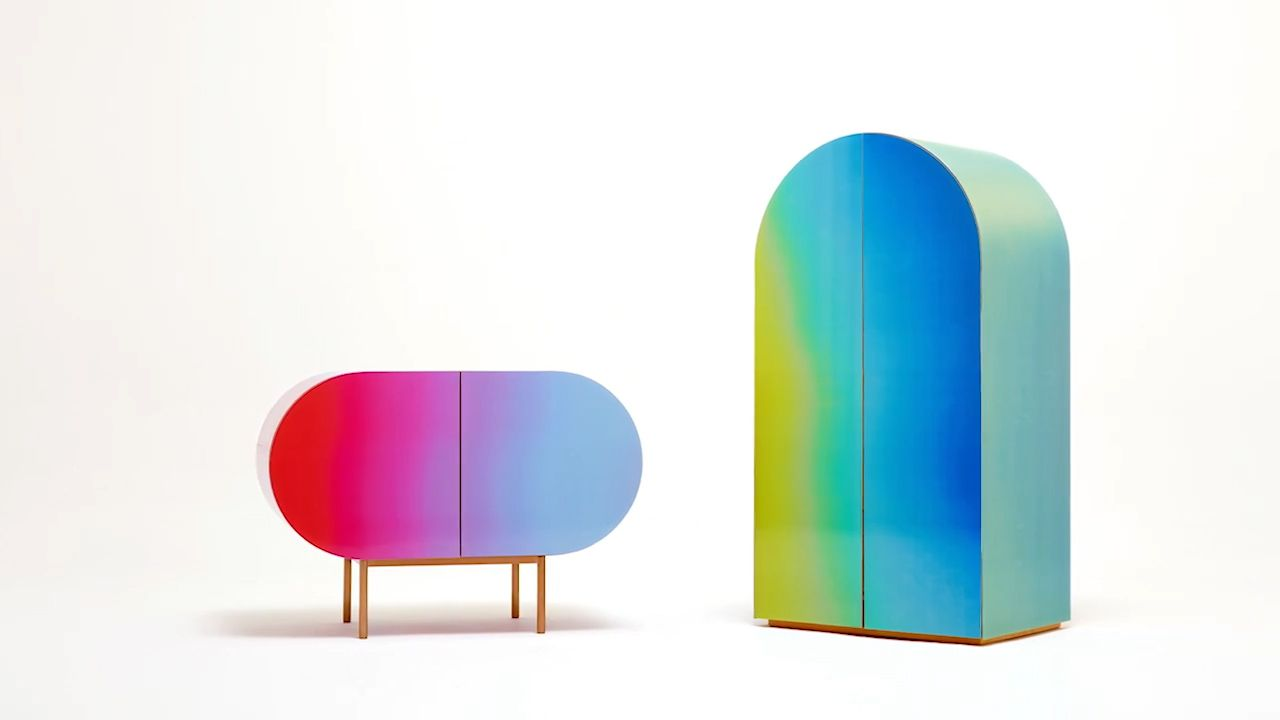 Rainbow furniture