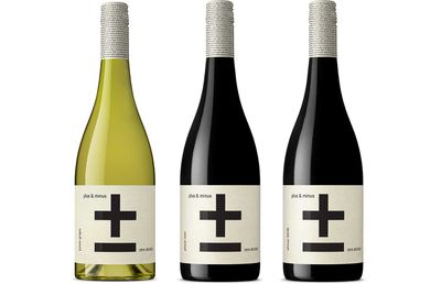 Plus & Minus Zero Alcohol Wine, $15