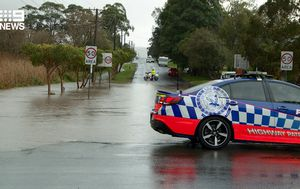 Severe weather warning for NSW South Coast as deluge brings flash flooding