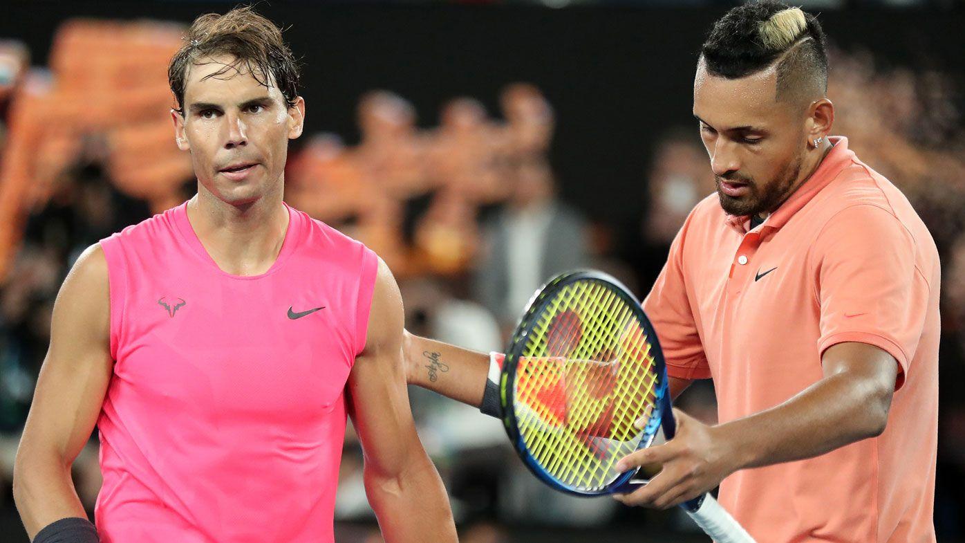 Rafael Nadal claims misunderstanding over underarm serves in Nick Kyrgios feud