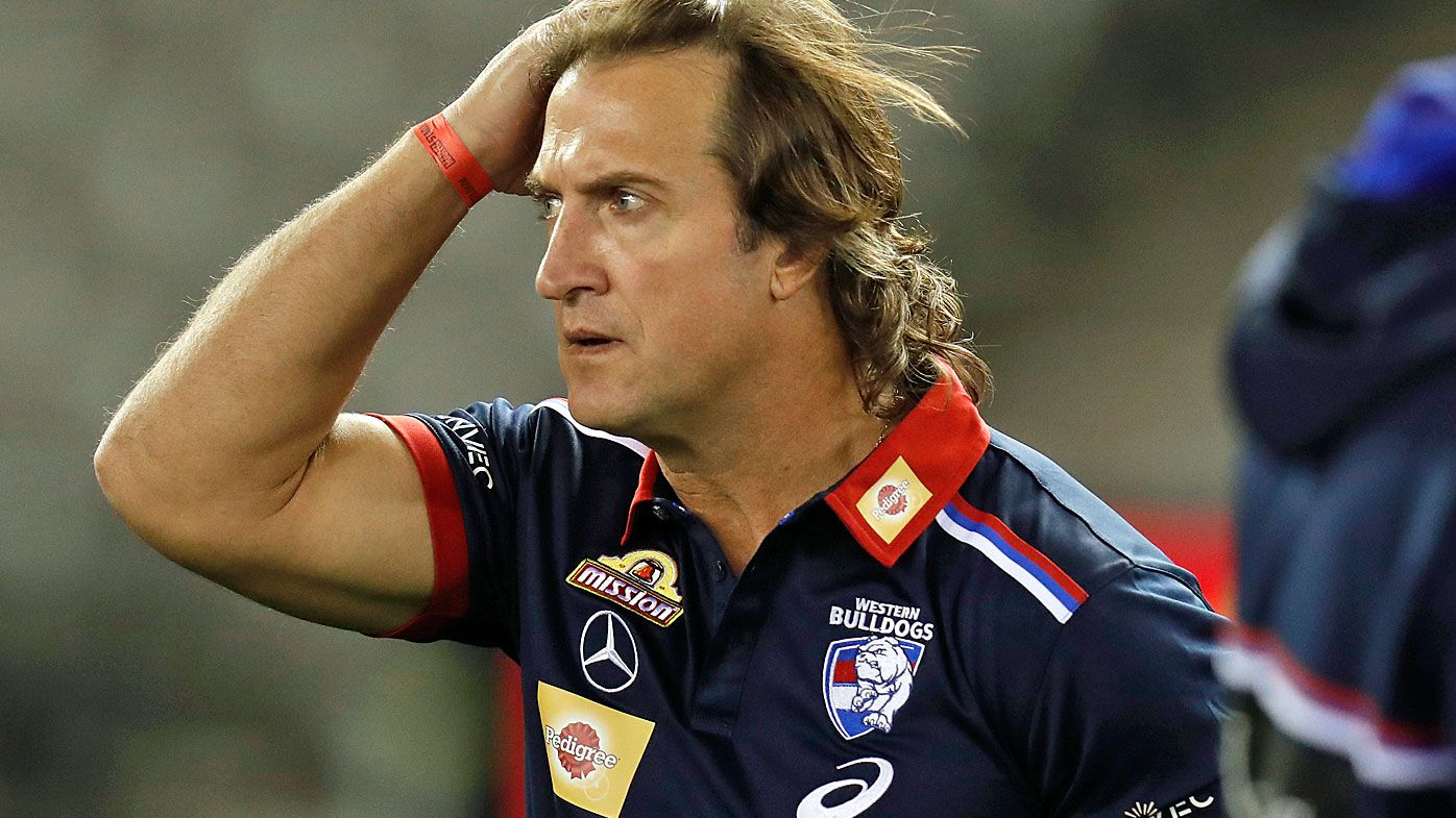 Luke Beveridge, Senior Coach of the Bulldogs