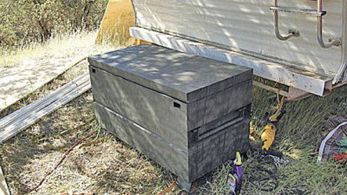 The girl was held captive by Ryan Balletto and Patrick Pearmain in a box that was only 1.2 metres long.