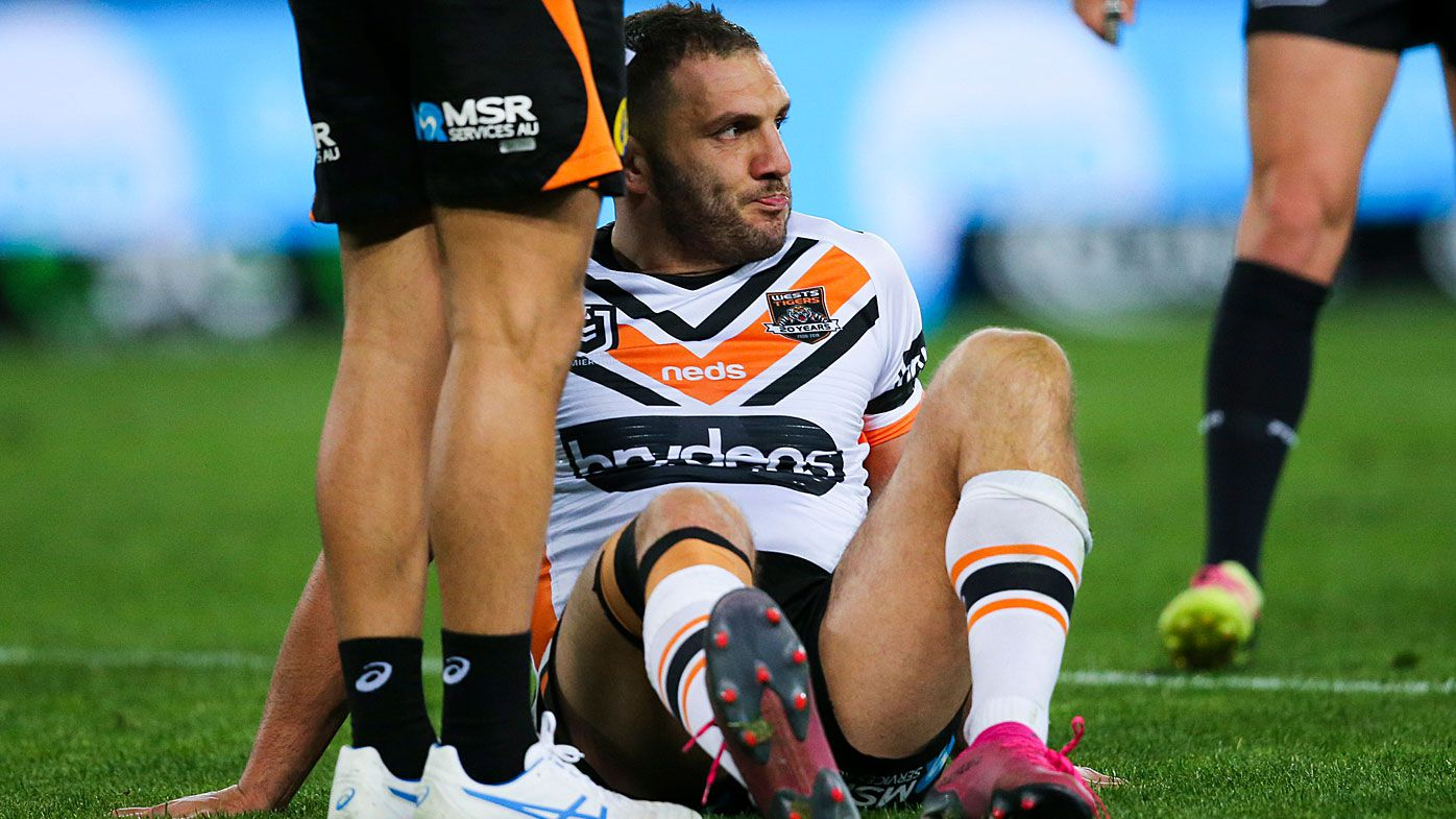 Robbie Farah suffered a broken leg