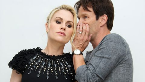 Surprise! <i>True Blood</i>'s Anna Paquin and Stephen Moyer are having twins