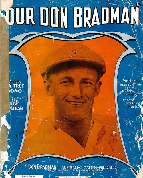 Our Don Bradman by Len Maurice was a code to Australia's iconic cricketer.