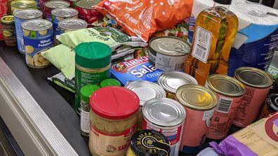 Coronavirus supermarket stockpiling