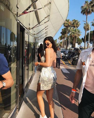 Kylie Jenner in Manning Cartell