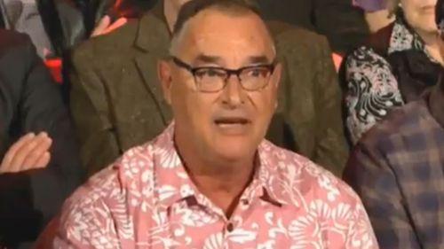 Questioner Tony Babic.