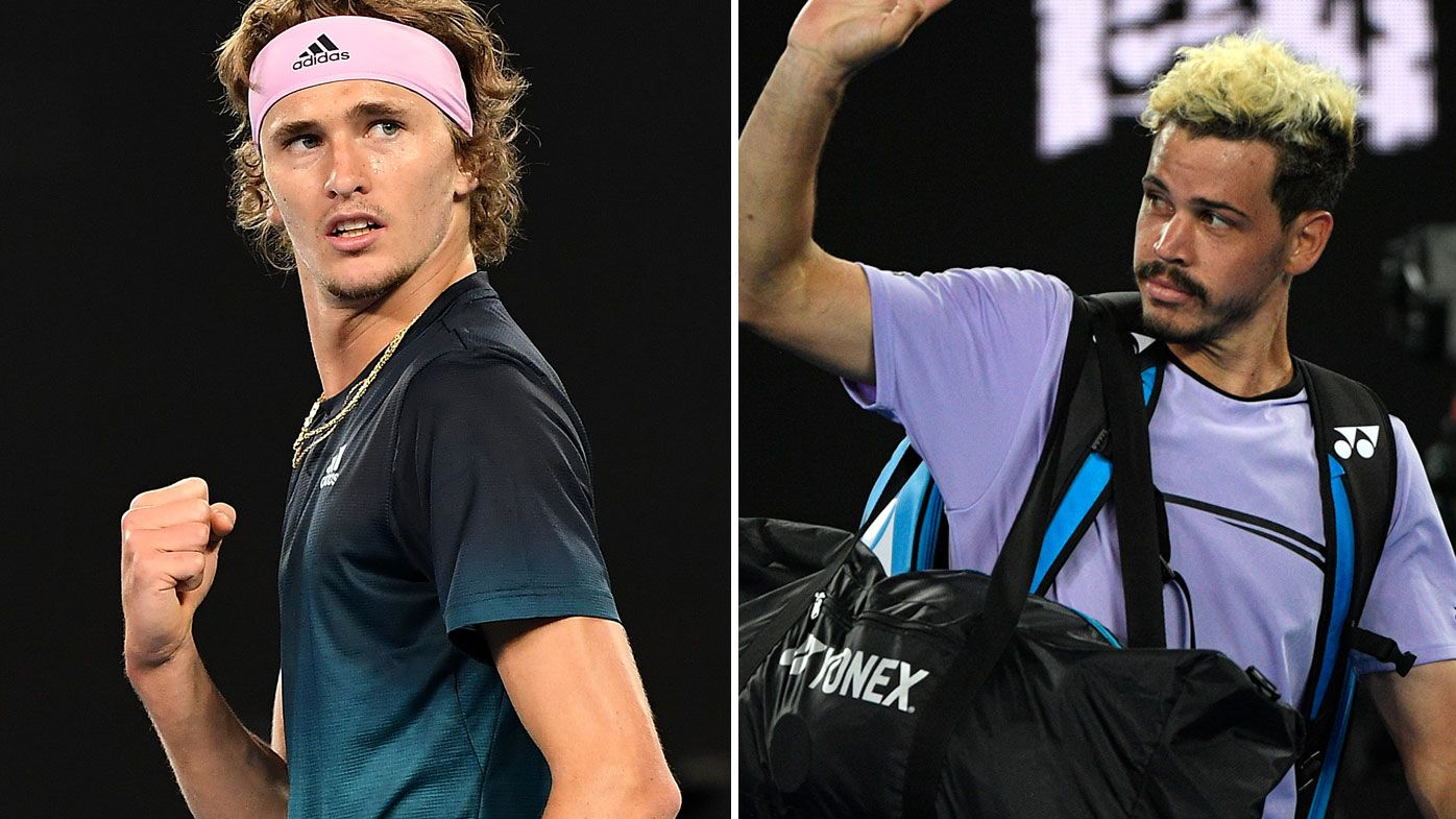 Zverev downs Bolt