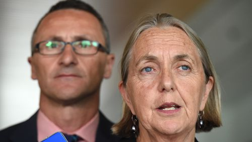 Greens Senator Lee Rhiannon 'disappointed' in leader Richard Di Natale