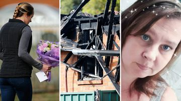 NSW town's promise to help family rebuild after blaze