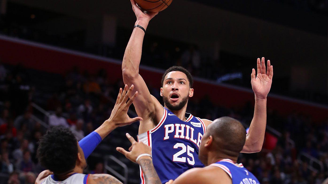 Ben Simmons produces monster triple-double against the Detroit Pistons