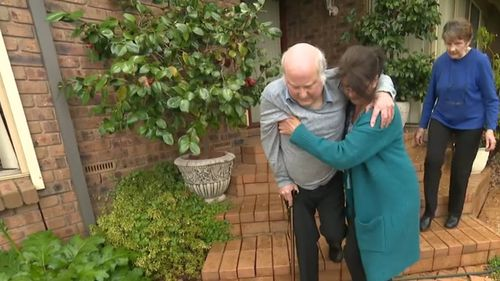 Retired engineer Dennis Murphy was rushed to Flinders Medical Centre yesterday suffering crippling back spasms. He was discharged 10 hours later, still in pain.