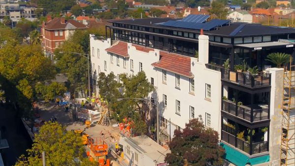 'This was the ugliest building in St Kilda, and now look at it'