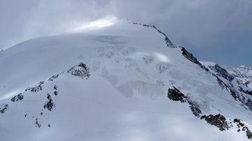 The Pigne d'Arolla mountain near Arolla, Switzerland. (AP).