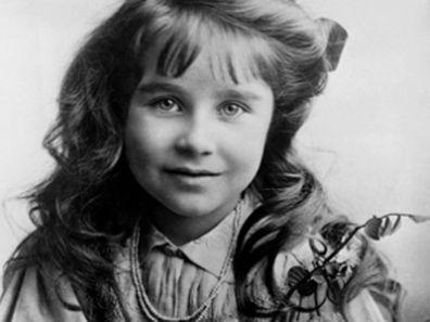 The Queen Mother as a little girl