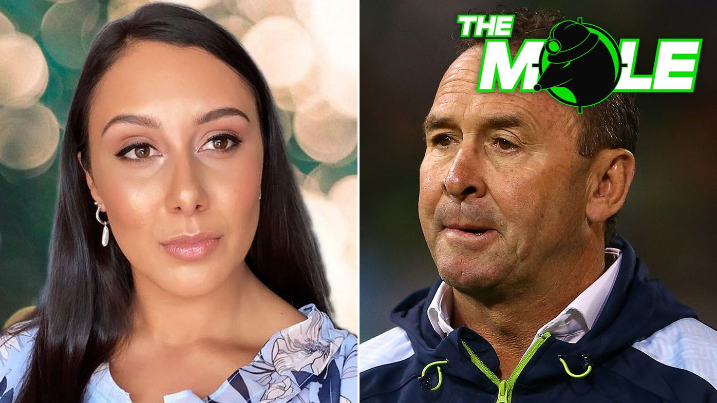 The Mole: Rival clubs hover after Joe Tapine's wife blasts Raiders coach Ricky Stuart