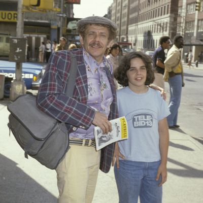 Jerry Stiller and Ben Stiller: 1978