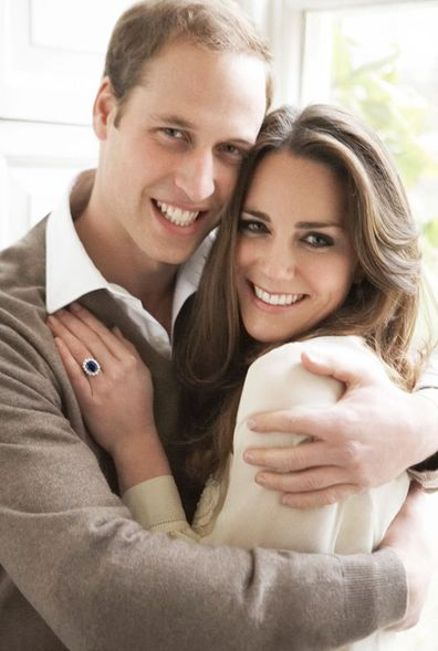 William and Kate's official engagement photo