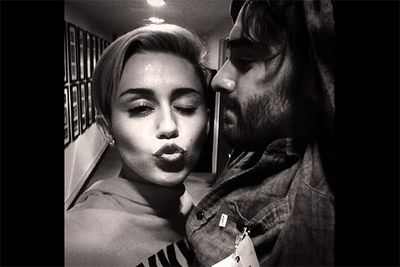 With all the tongue-wagging she's been working on-camera lately, we'd almost forgotten that Miley Cyrus was also our go-to girl for a good duckface pose. The 'Wrecking Ball' singer posted this pic to her Instagram account earlier in the month to celebrate her impending SNL hosting stint. <br/><br/><i>Image: Instagram @mileycyrus</i>