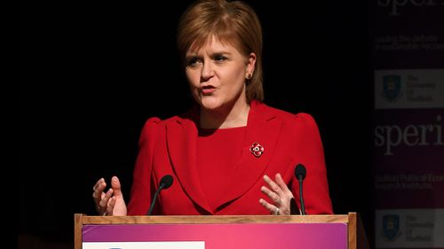 Scotland to request second referendum on independence