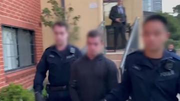 Three senior Finks bikies charged over alleged Sydney shopkeeper extortion