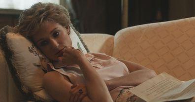 Elizabeth Debicki as Princess Diana in The Crown Season 5.