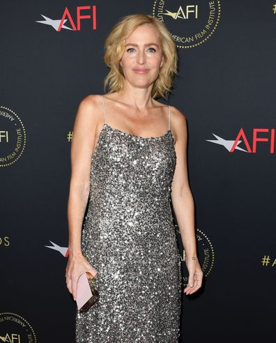Gillian Anderson attends the 20th Annual AFI Awards at Four Seasons Hotel Los Angeles at Beverly Hills on January 03, 2020 in Los Angeles, California.