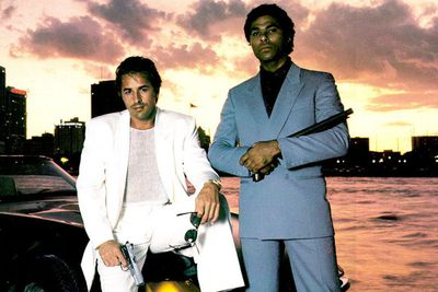 <B>The beach:</B> Miami Beach.<br/><br/>Set on Florida's Miami Beach, <I>Miami Vice</I> focused on two detectives working undercover to fight drugs and violence. The show was famous for incorporating many elements of '80s pop culture such as music and fashion. While the show's wardrobe looks super-dated now, it was highly influential at the time.