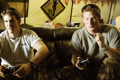 "Prince Harry was stationed in Afghanistan in 2012, where he likened killing enemy soldiers to playing a video game. ""It's a joy for me because I'm one of those people who loves playing PlayStation and Xbox, so with my thumbs I like to think I'm probably quite useful,"" he said. Tasteful. <br/>"