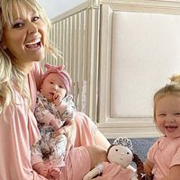 Charli Robinson on what it was like to have a baby during the pandemic