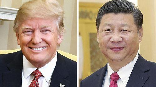 Trump denounces China trade with North Korea