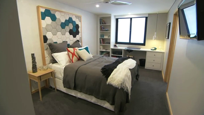 Matt and Kim's Guest Ensuite from The Block Sky High