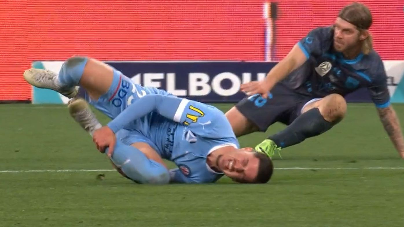Sydney FC's Luke Brattan sees red in 'moment of madness' in A-League Grand Final