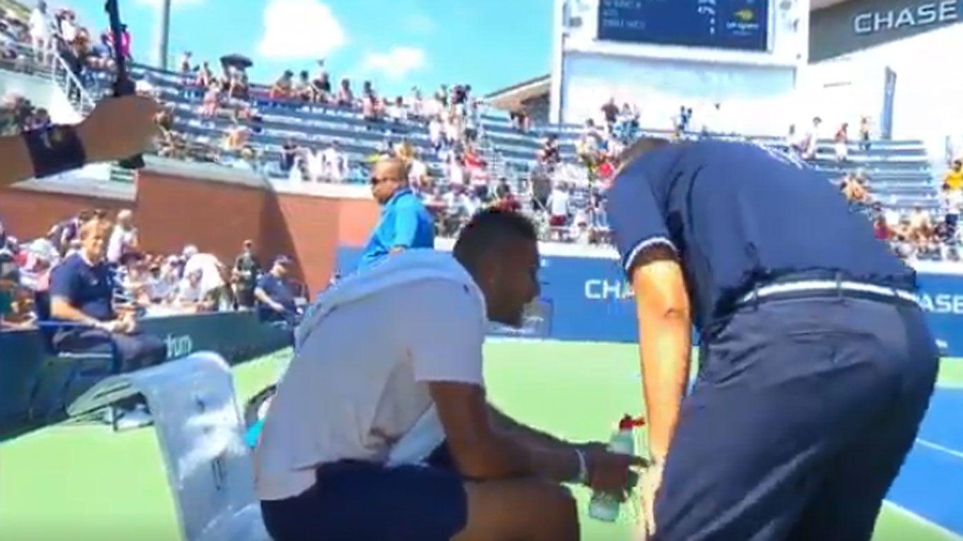 Nick Kyrgios controversially advances at US Open