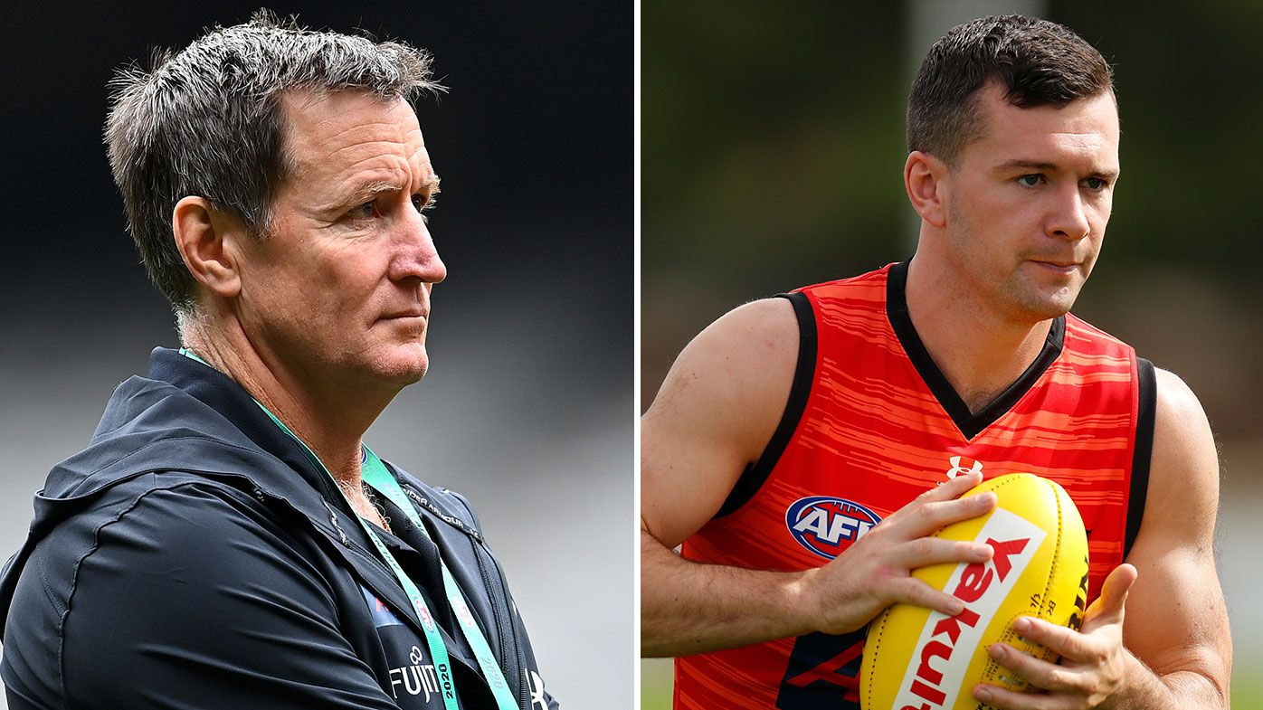 Essendon coach John Worsfold wants clarity on Conor McKenna's COVID-19 reality