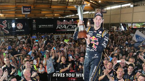 Whincup officially crowned V8 champion